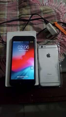 Iphone 6 ram 1gb rom 64gb nego Murah bekas berkualitas