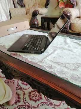 Haier 7th generation laptop with 360 degrees rotation 10/10 condition.