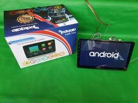 Head unit Android 10inc ROCKGATE mesin Besar Android versi 10