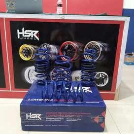 Lowering kit  HSR per mobil pajero