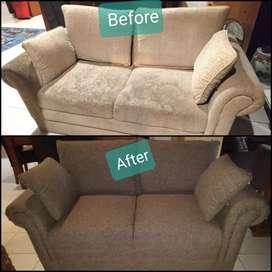 Jasa service sofa / servis sofa, jok, dan kursi bergaransi