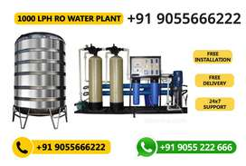 RO Mineral Water Plant (1000 LPH)