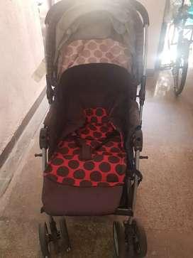 Baby Pram with Canopy