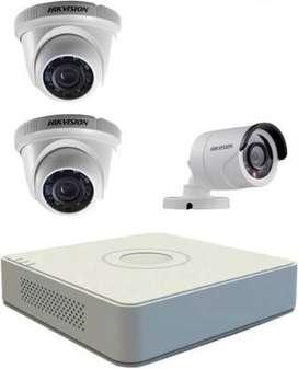 HIKVISION SET OF 3 HD CCTV CAMERA NIGHT VISION