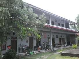 Jual Rumah dan Kost JL Damai fasilitas joglo, kolam renang dan taman