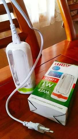 LED Emergency Lamp & Senter
