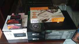 Paket audio mobil 1 set