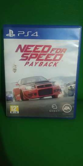Bd ps4 Need For speed payback