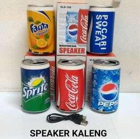 Speaker Kaleng Portable / Speaker Murah