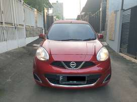 NISSAN March XS AT 2017 Red, 1st Hand, Serv Record, Mint Condition