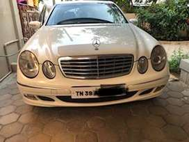 Good Condition E Class Benz with FC until 2024