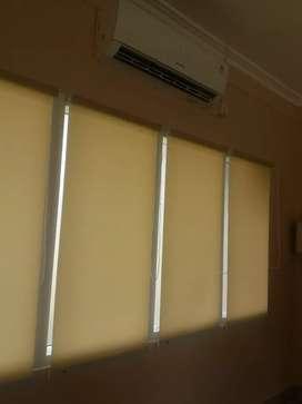 Toko distributor roller blinds kantor