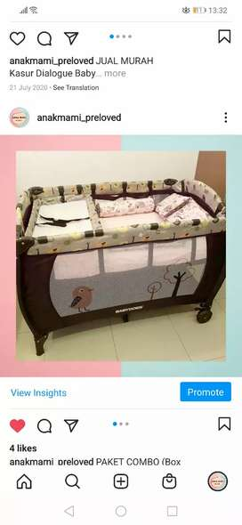 box bayi like new