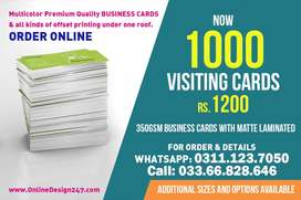Stationary & Visiting cards Printing Online