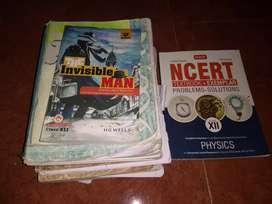 Class 12 NCERT books (Physics,Chemistry, Biology, Maths and English)