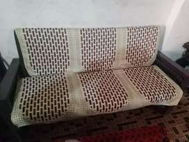 Sofas set with cover