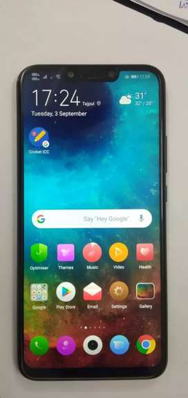 8 month old Huawei Nova 3i (Black, 4GB RAM, 128GB Storage)