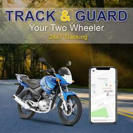 Bike Location Tracker +Engine Control +History +SMS Alert pta approved