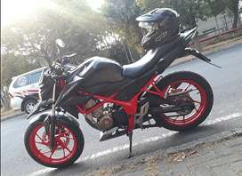 Honda CB 150 R, Special Edition Hitam Doff-Merah Th. 2016 Akhir