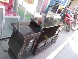 meja tv bahan triplok dan lapis multiplek sisem paten 150 cm