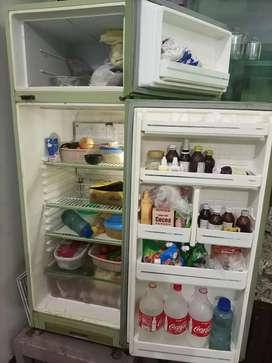 Used Fridge with good condition and awsome cooling with greem colour