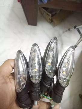 LED INDICATOR - KTM / DOMINAR / NS200 / RS 200 / R15V3 - Stock fit OEM