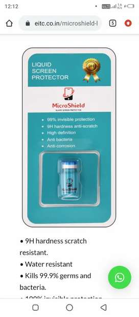 Urgent need  sales executives for Microshield liquid screen protector