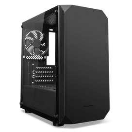 Casing Tecware Nova M Black Tempered Glass M-ATX Case