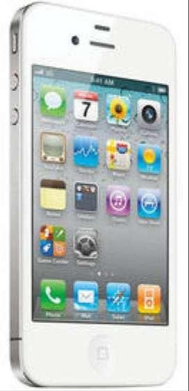 APPLE IPHONE 4 (WHITE, 8 GB) REFURBISHED