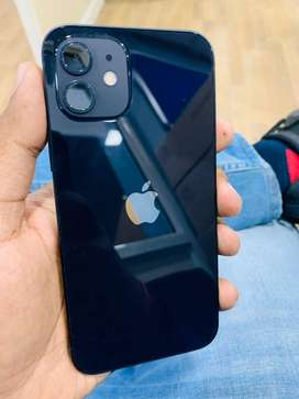 Less used I Phone 12 black 128 gb available