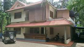 Two storied house with 70 cents at kottappady. Kothamangalam