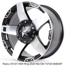 dijuall RASTA JT5137 HSR R20X9 H6X139,7 ET20 SMB/MF