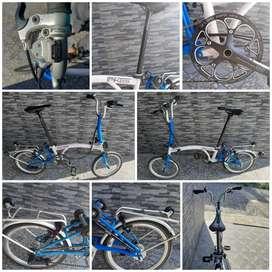 Sepeda Lipat Upgrade