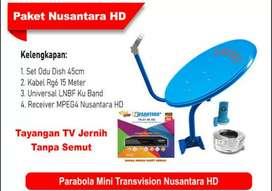 Parabola mini siaran tv digital