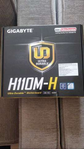 Intel core i5-7400 processor and H110MH Motherboard