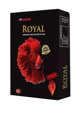 Royal gappy feed..and Royal Betta feed available..