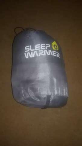 Sleeping bag warmer kondisi mulus masih bagus