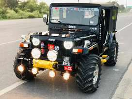 Open new modified jeep
