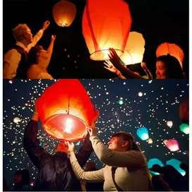 Lampion terbang sky