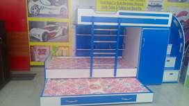 Tripple Bunk bed with safe