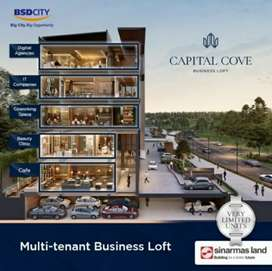 Ruko Capital cove penthouse multi tenant business loft BSD Hanya 4unit