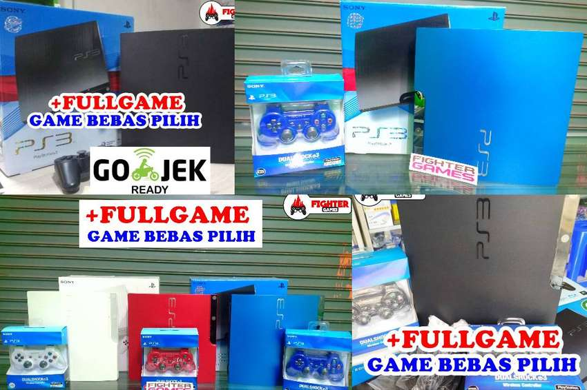 [NEW] PS3 500GB +FREE FULLGAME HARDISK PLAYSTATION PS 3 SLIM SONY HDD 0