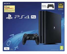 PS 4 Pro plus ds4 brand new