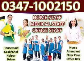 Cook,Chef,maid,helper,Couple,baby sitter,baby Nanny,attendantetc