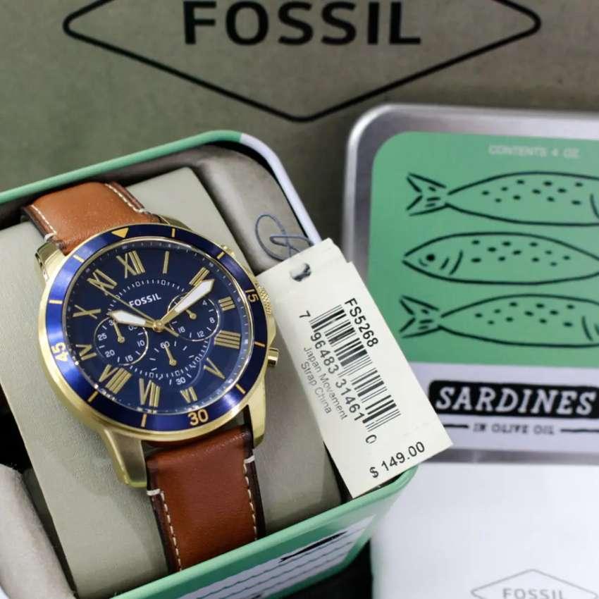 Jam Tangan Fossil Grant FS5268 Authentic 0