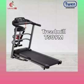 treadmill elektrik twen TM -176 alat fitnes electric