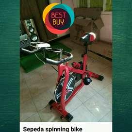 Alat fitnes murah sepeda spining transformer bisa cod
