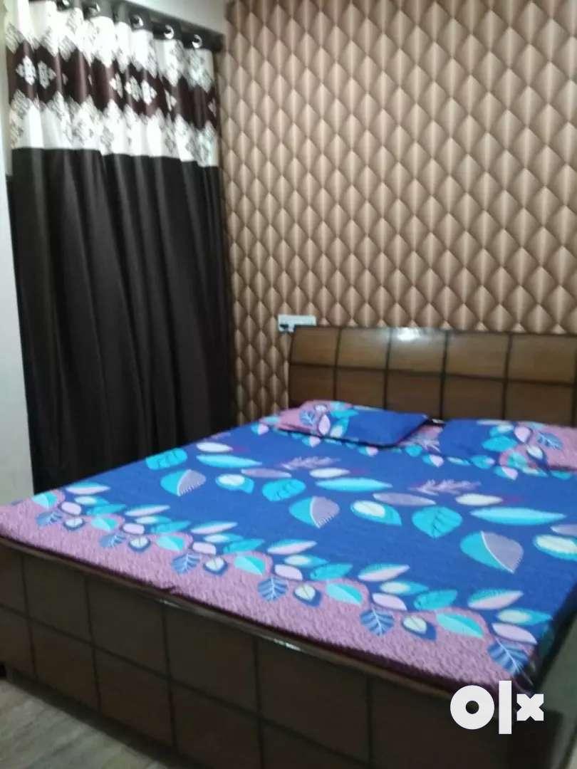 INDEPENDENT SEMI FURNISHED TWO BEDROOM SET FOR RENT 0