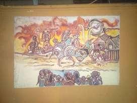 Lukisan timbul kuda lumping
