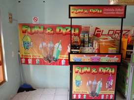 Booth Usaha Bubble Drink Murah Lengkap